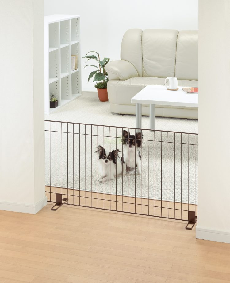 pet gate extra wide pressure mounted