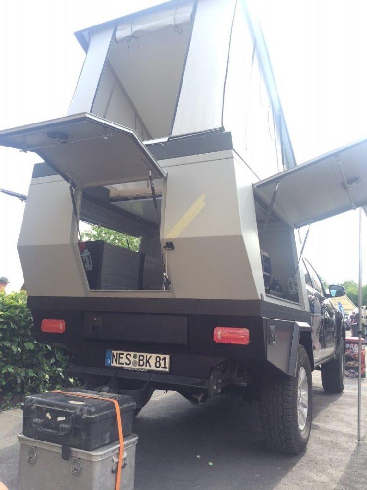 truck bed tent brands