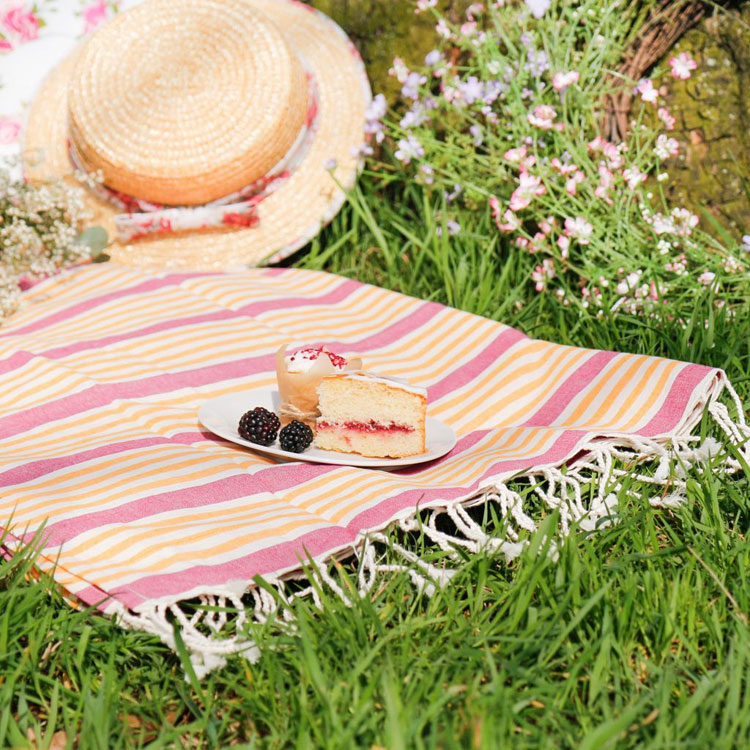 picnic blanket knitting pattern