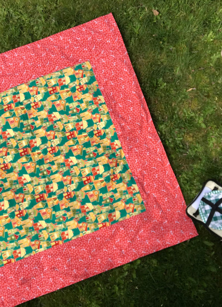 quirky picnic blanket
