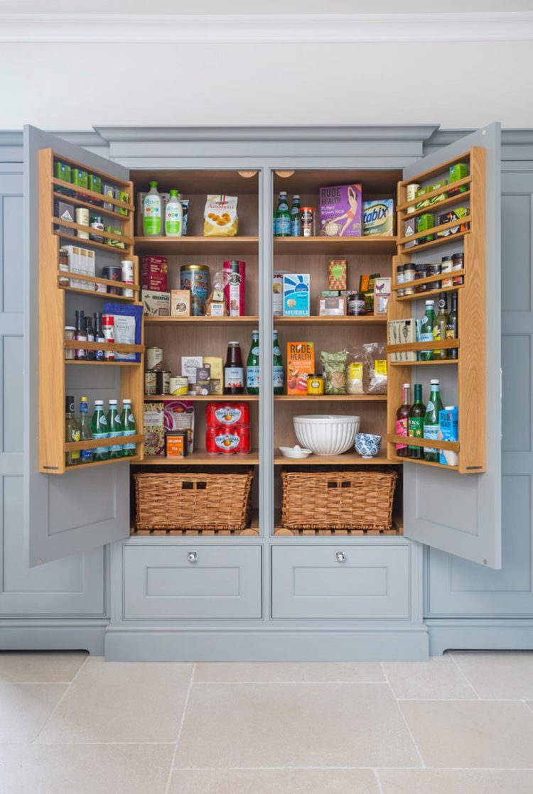pantry cabinet hardware placement