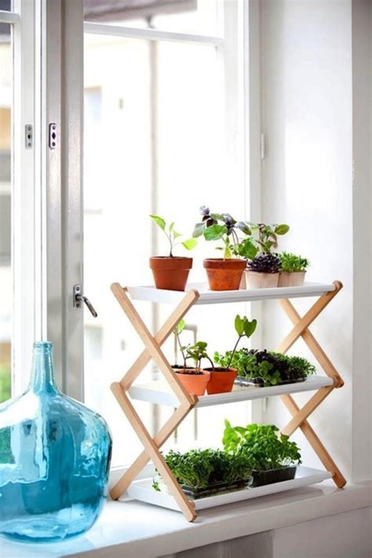 plant stand hairpin legs