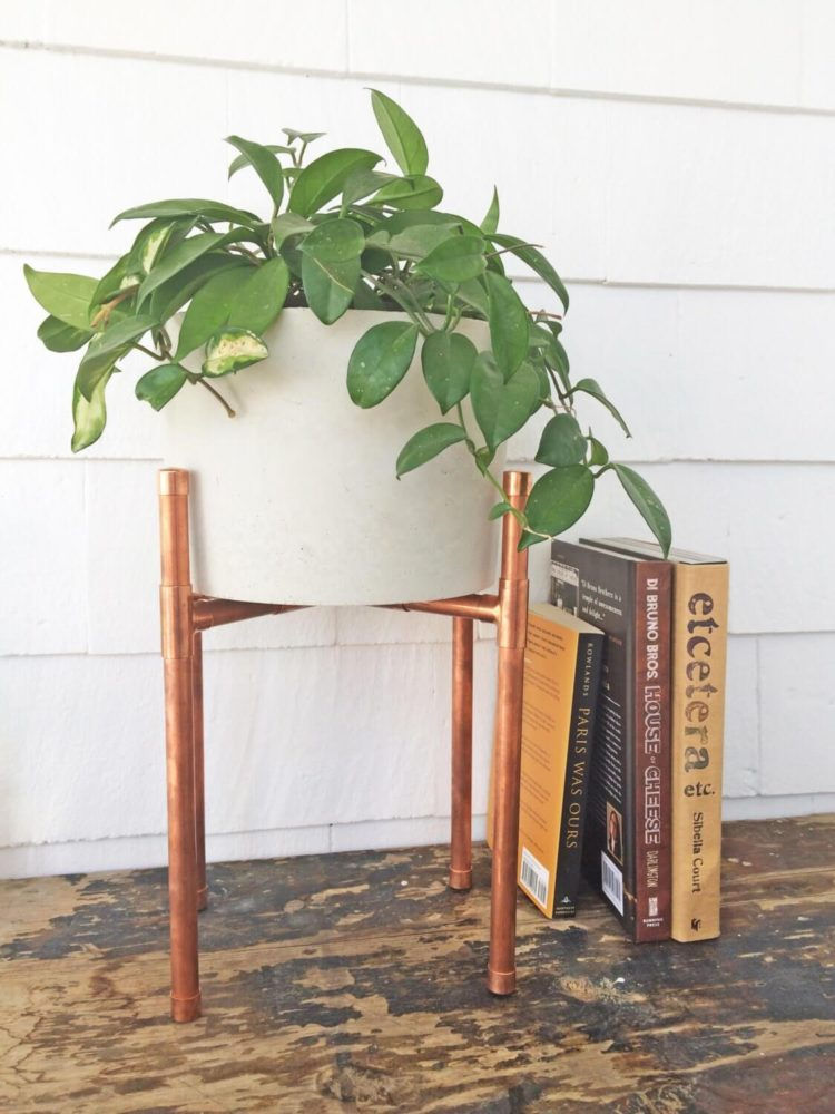 l shaped plant stand