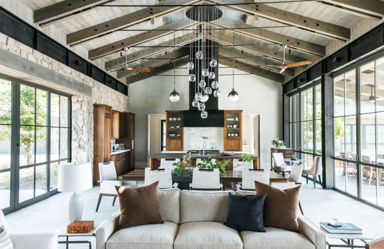 50 Vaulted Ceiling Ideas To Make Spaciousness In Style