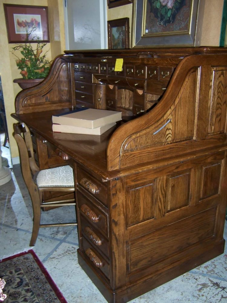 antique roll top desk price guide