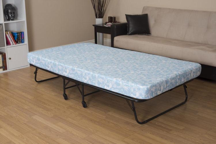 rollaway bed mattress size