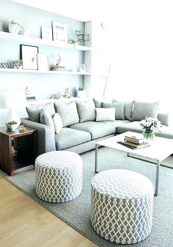 small sectional sofa armless