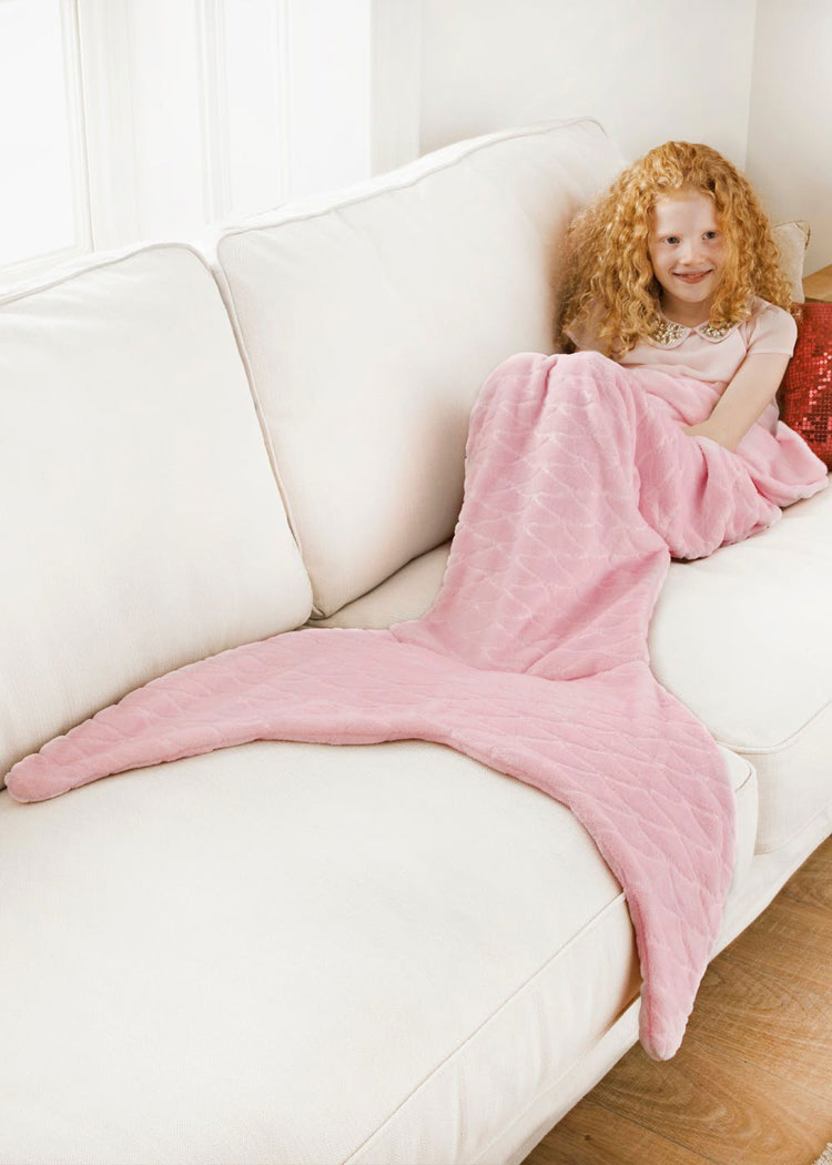 extra large mermaid tail blanket