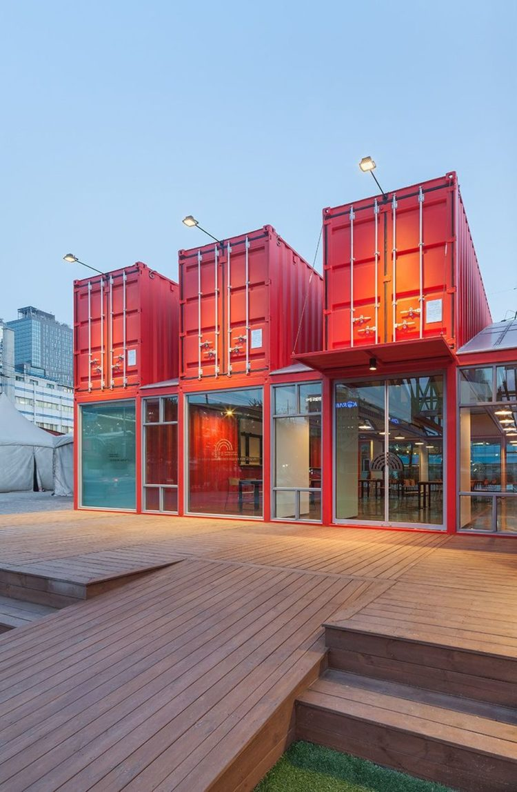 shipping container exterior insulation