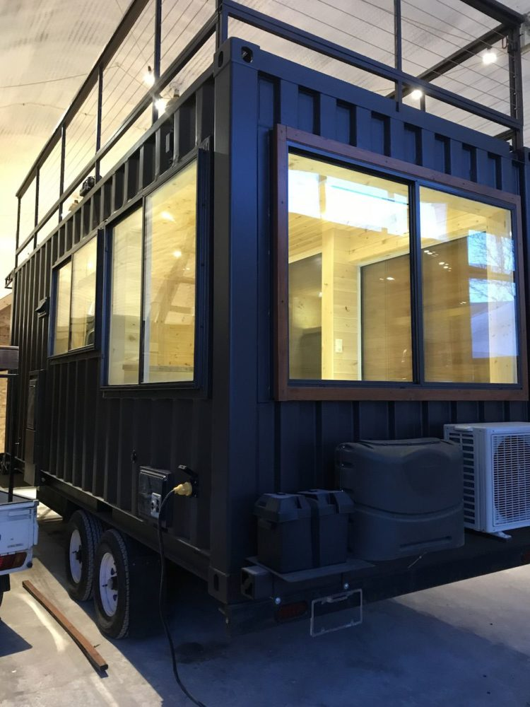 shipping container overseas