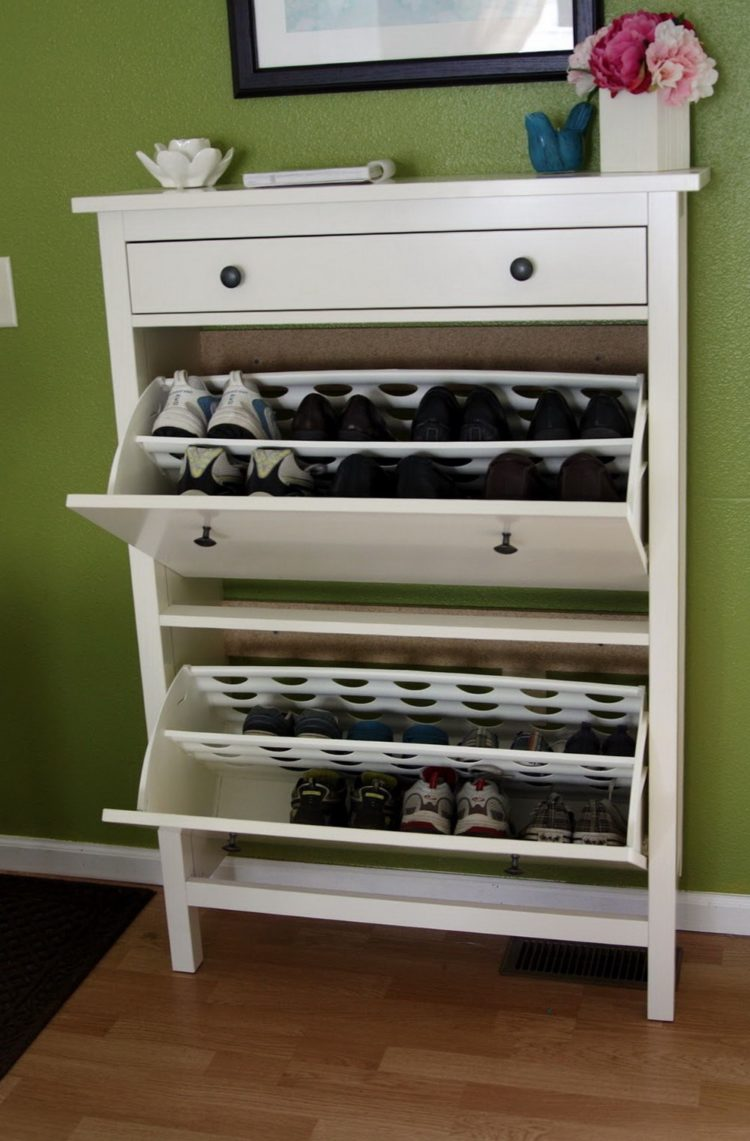 shoe cabinet in store
