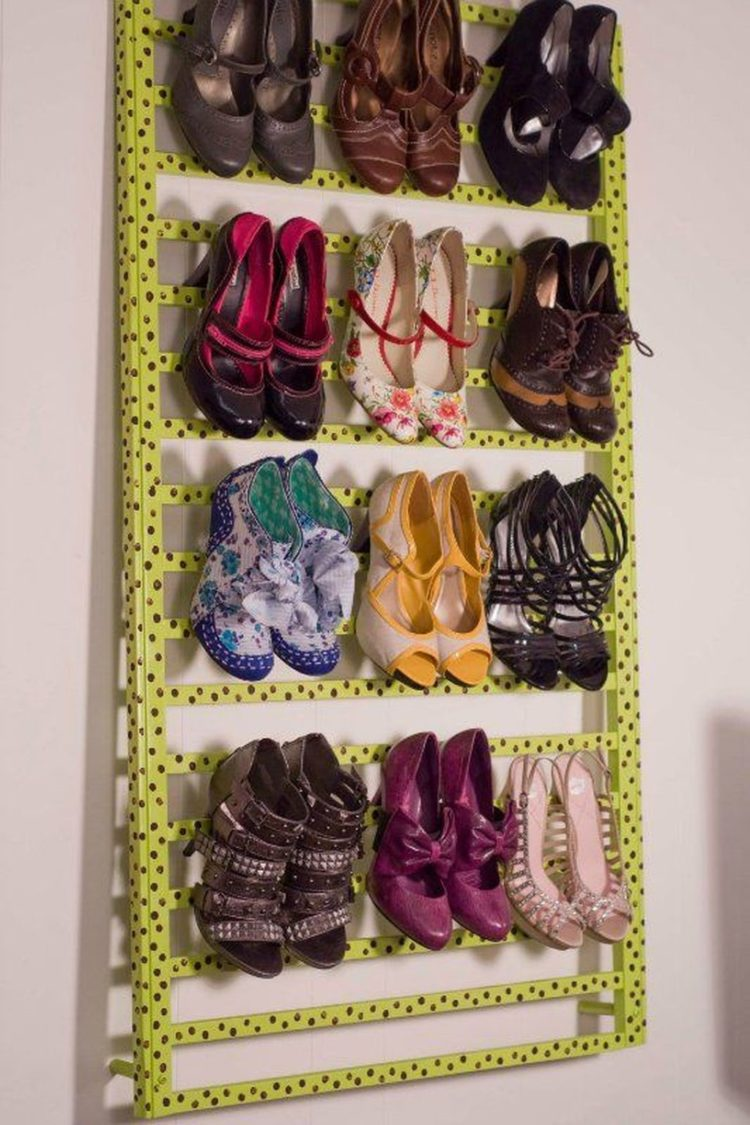 shoe cabinet living spaces