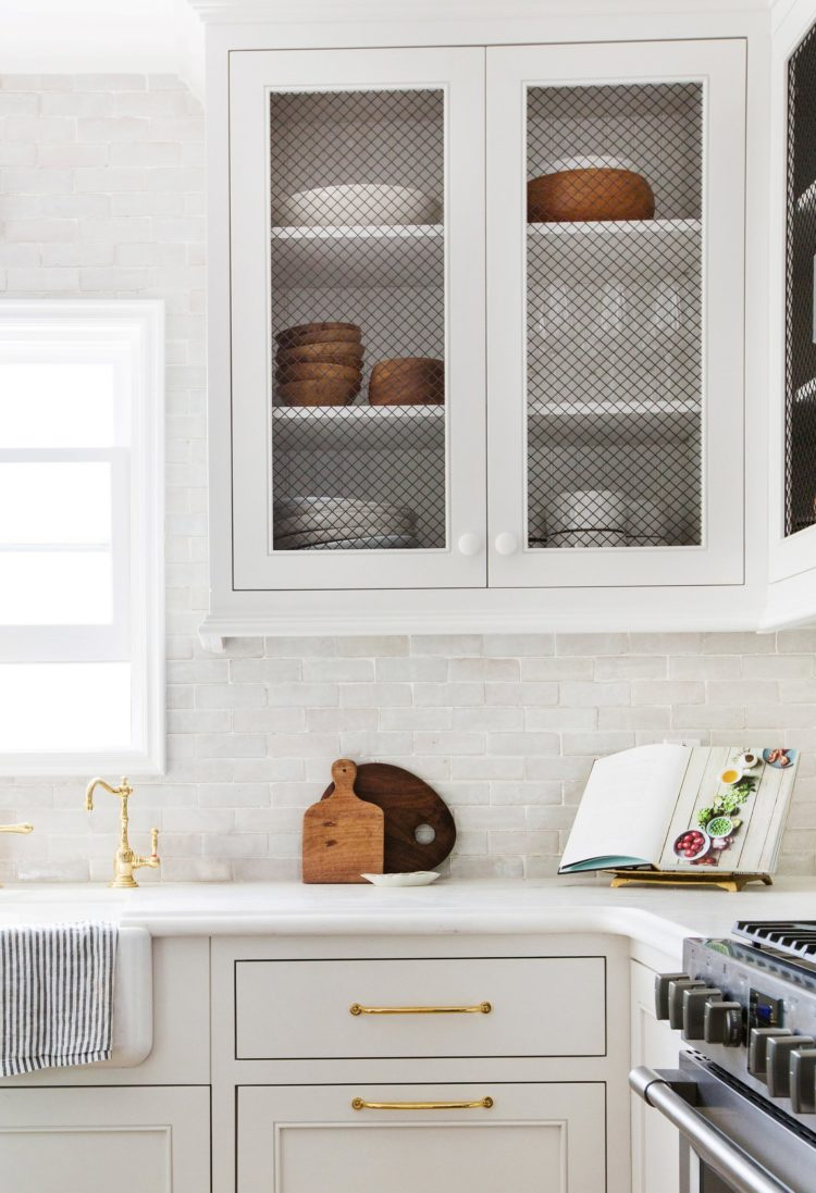 subway tile backsplash grout color