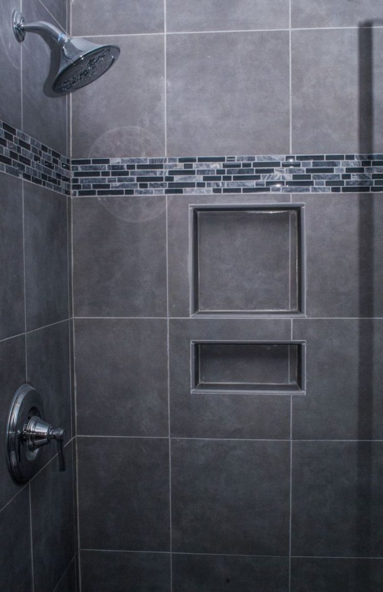 shower tile holder