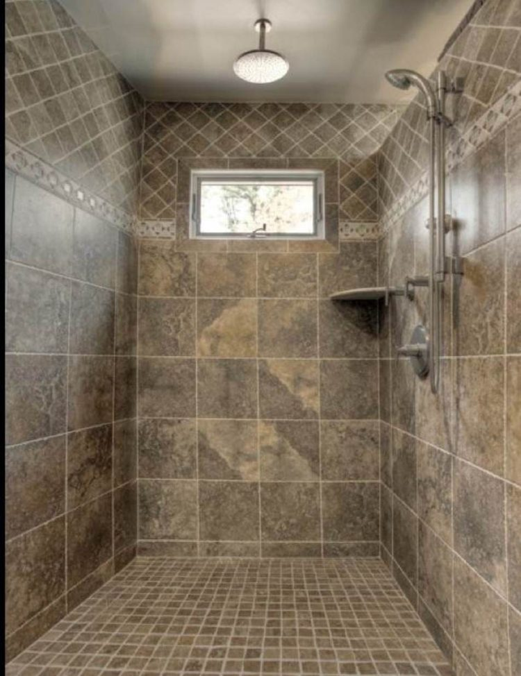 shower tile glass