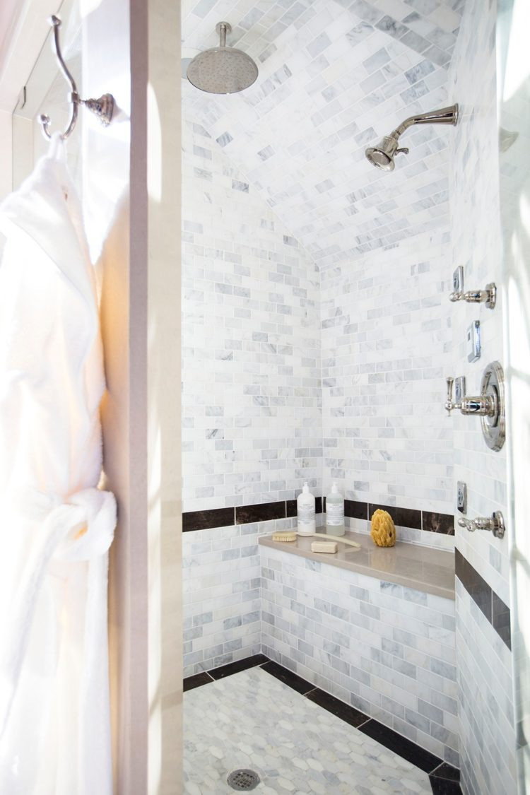 shower tile enclosures