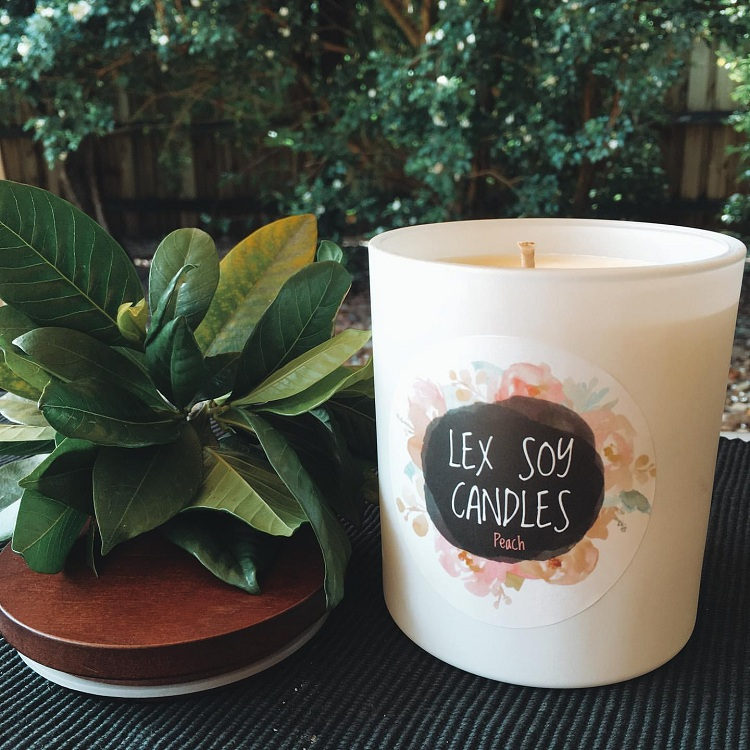soy candles no soot