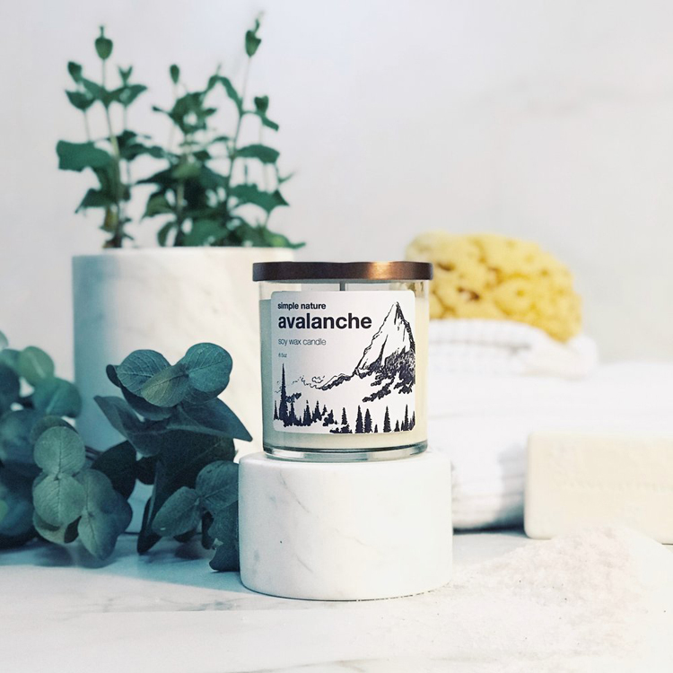 soy candle with jewelry inside