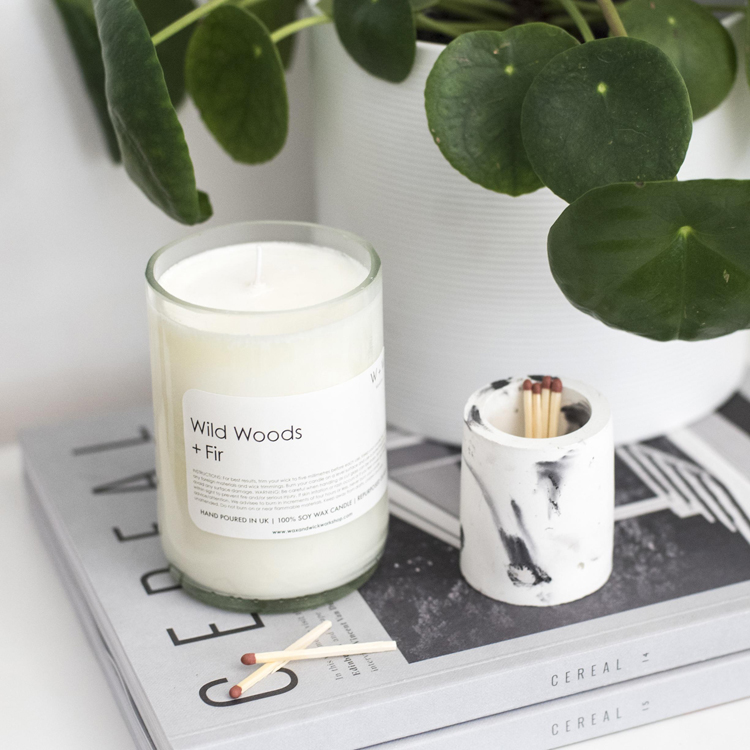 soy candle imperfections