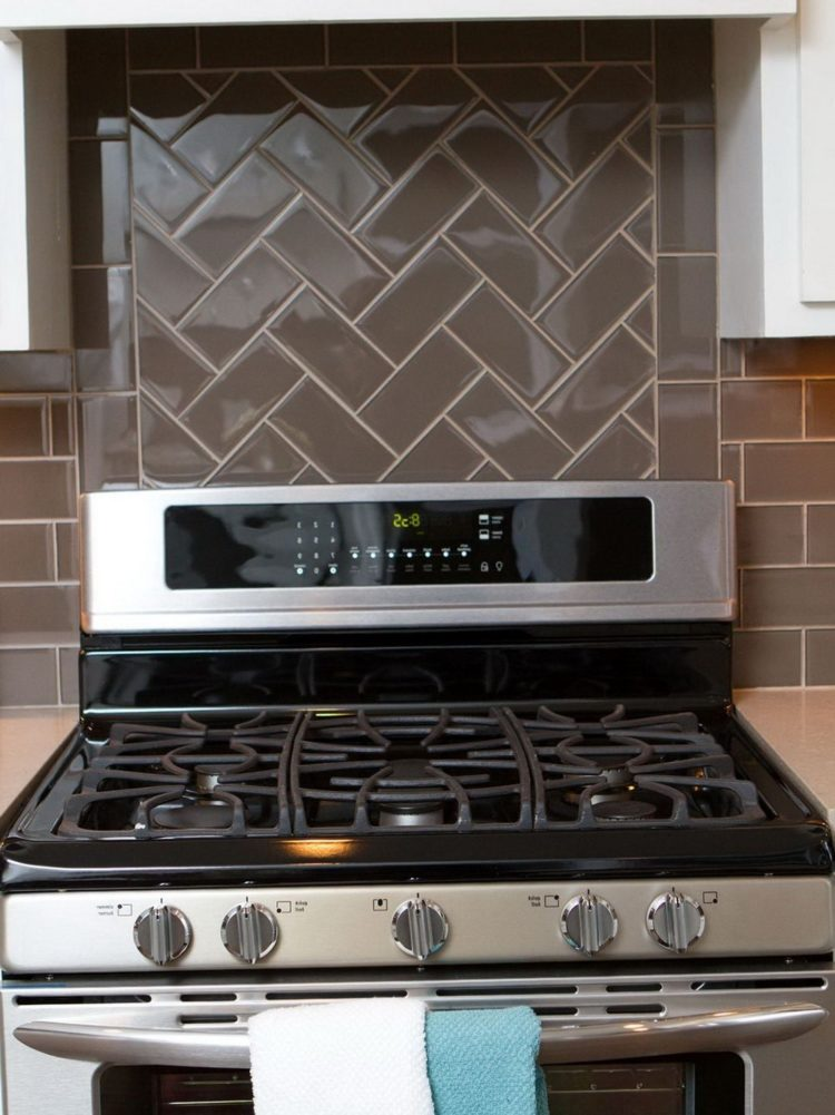 subway tile backsplash kitchen corner