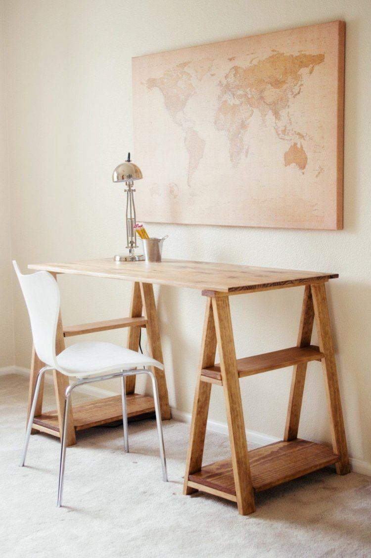 trestle table images