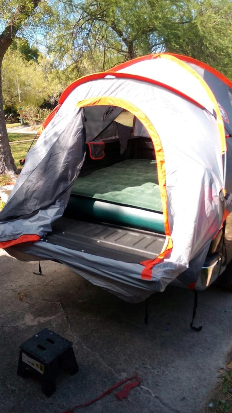 easiest truck bed tent