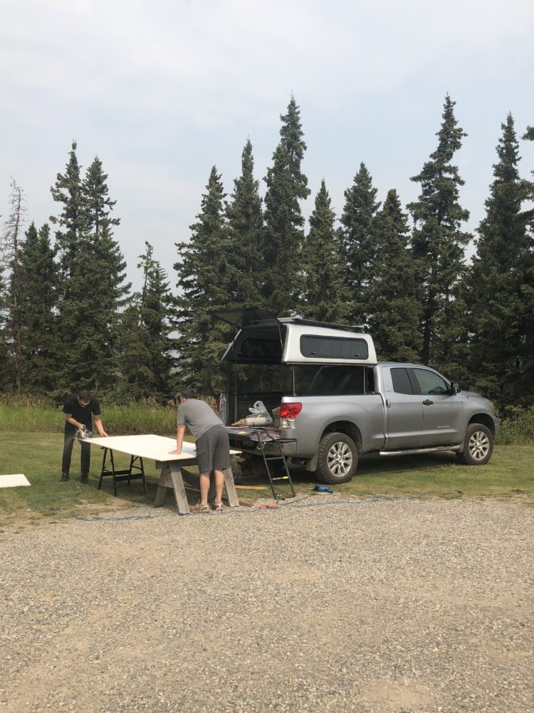 truck bed tent extension