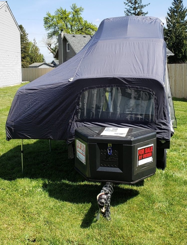 truck bed tent cover