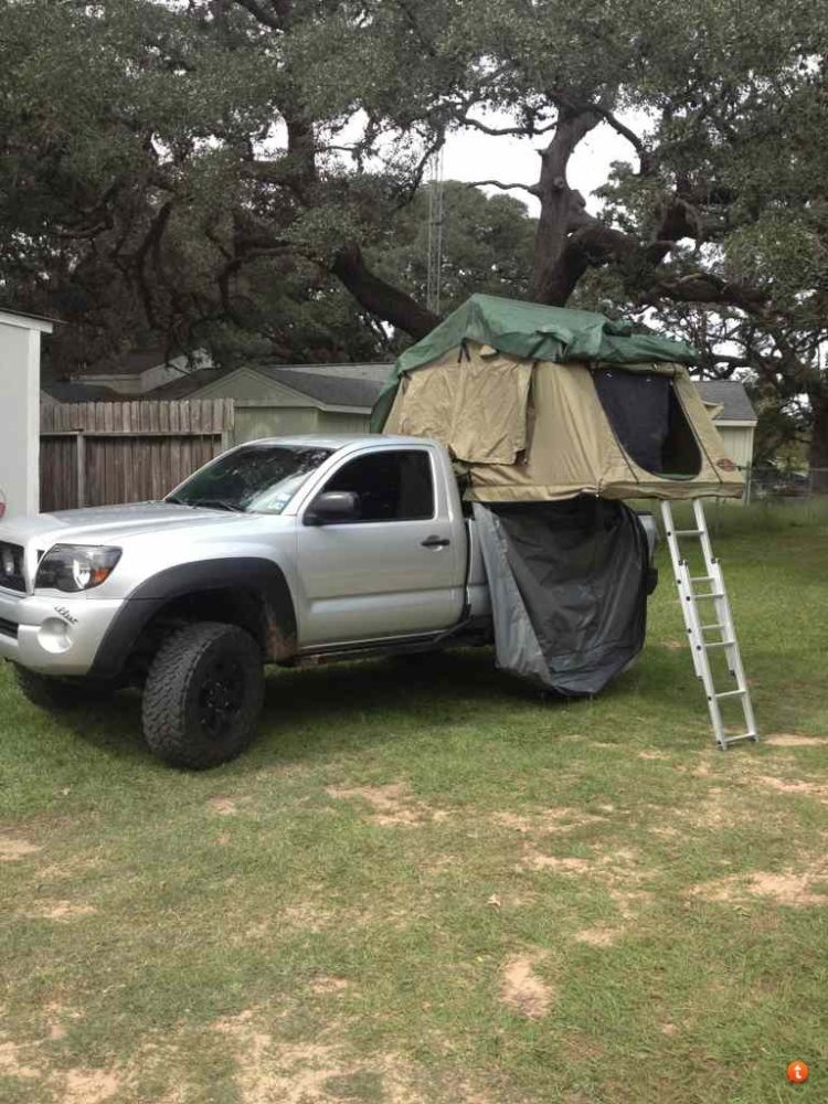 truck bed tent bass pro