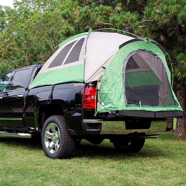 truck bed tent ac