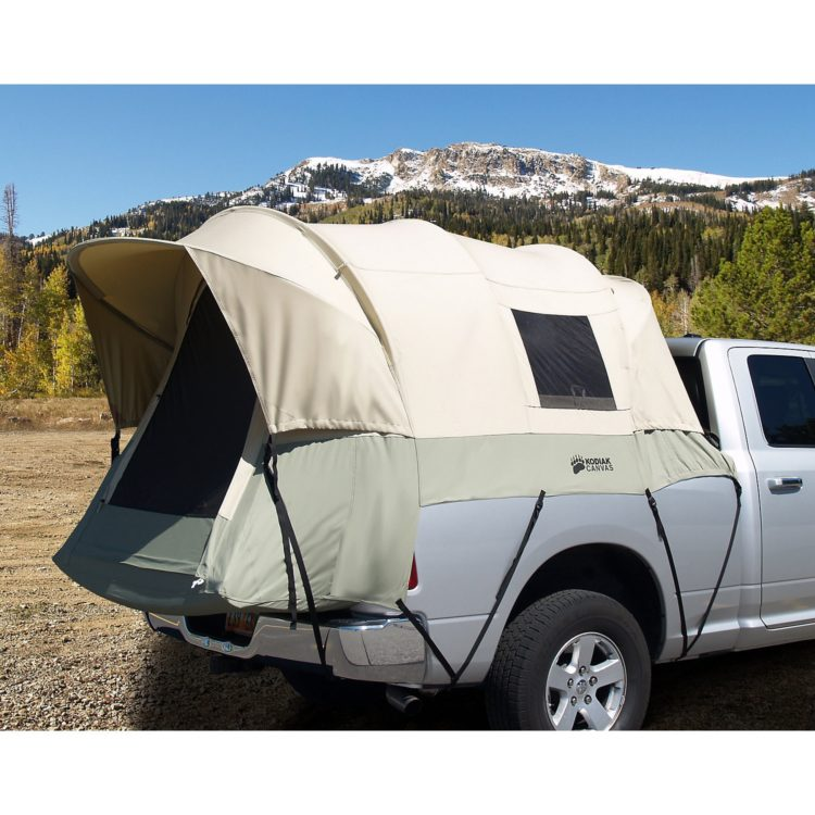 over the truck bed tent