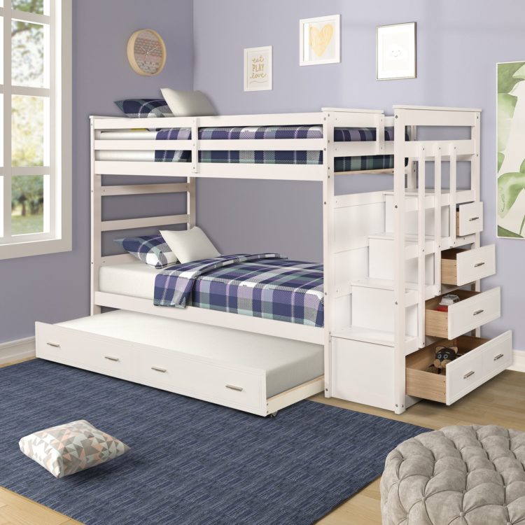 trundle bed high rise