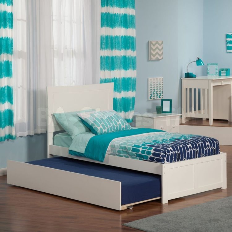 trundle bed height