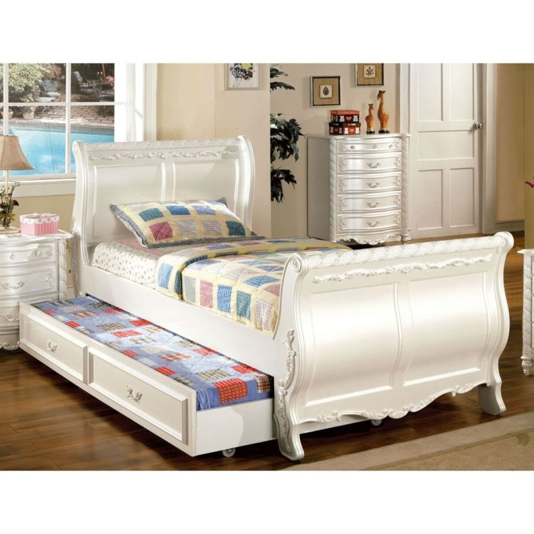 trundle bed heavy duty