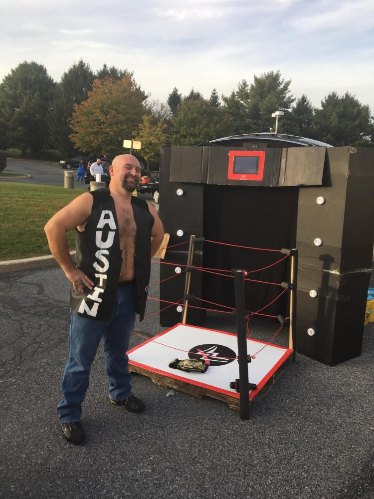 trunk or treat haunted house