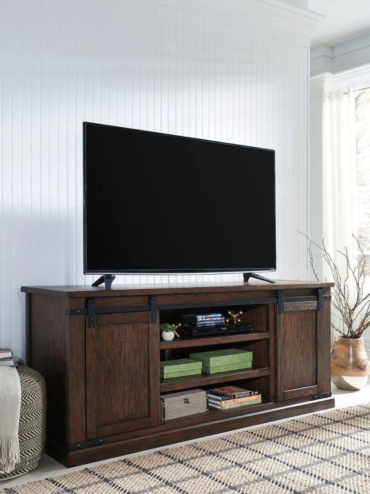 tv stand with moving mount