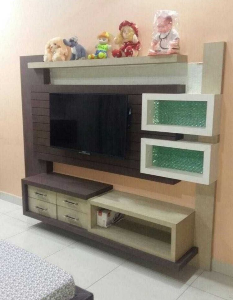 tv stand without mount