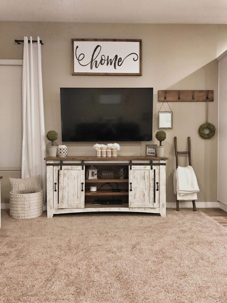 tv stand with mount sale