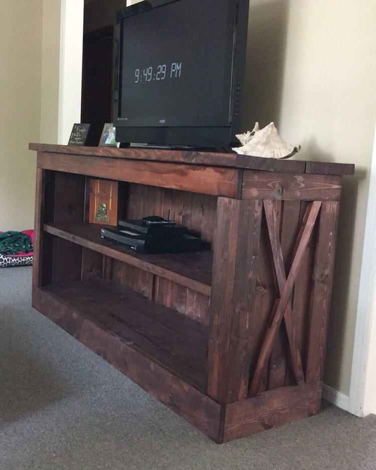 tv stand with mount storage