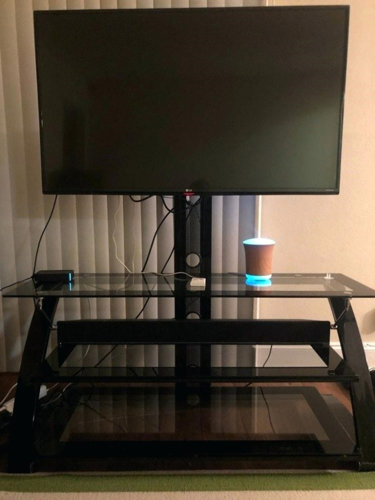 z tv stand with mount