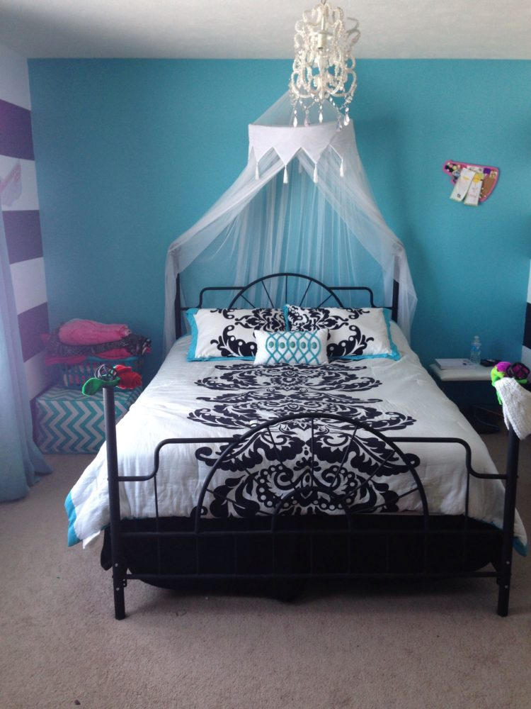 twin bed frame high