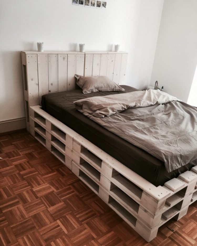 twin bed frame living spaces