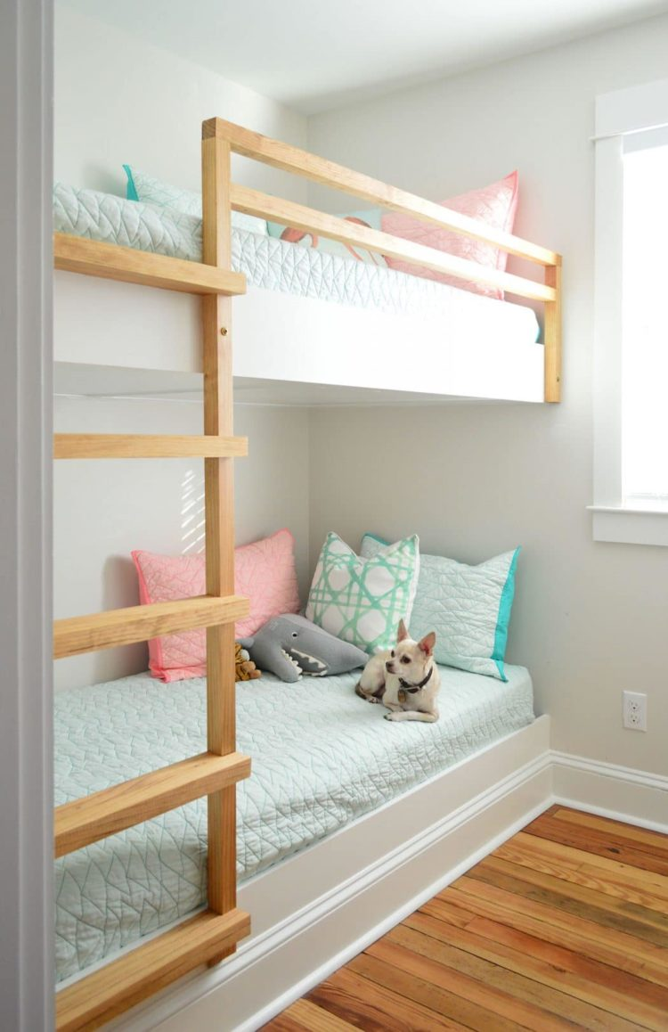 50 Modern Twin Over Full Bunk Bed To Make The Room On Space