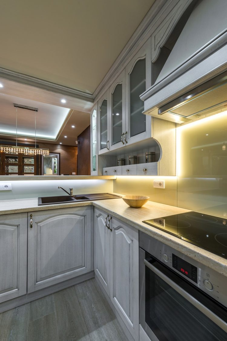 under cabinet led tape lighting how to