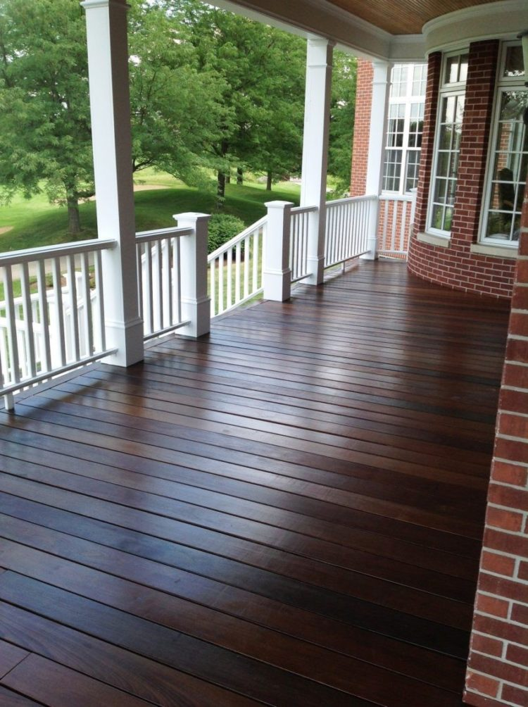 wood stain color range