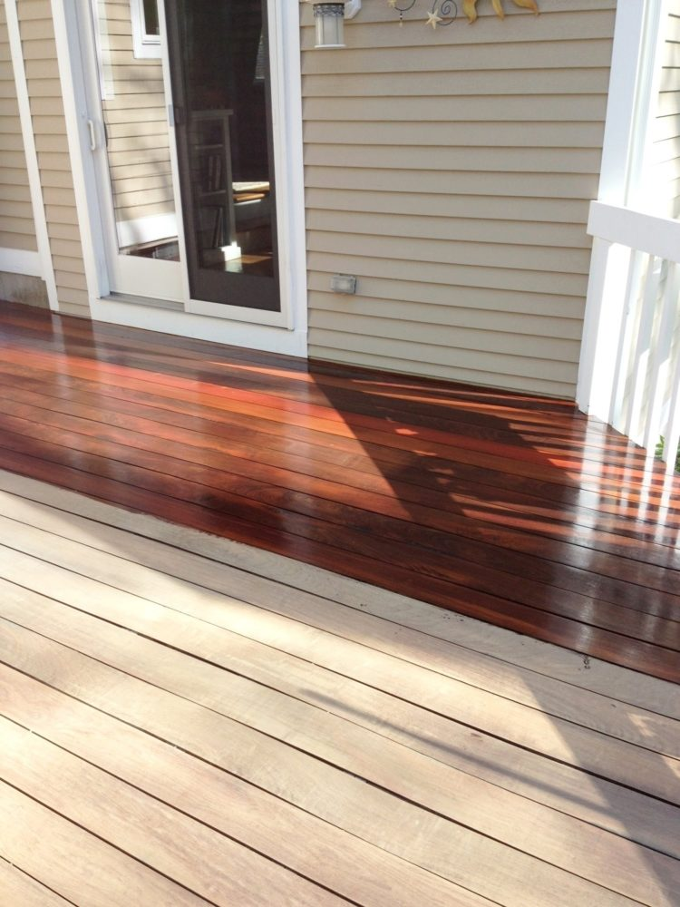 wood stain popular color