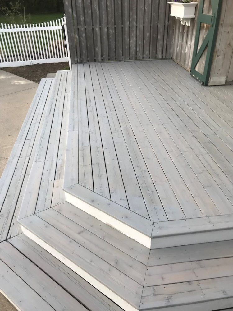 wood stain color price