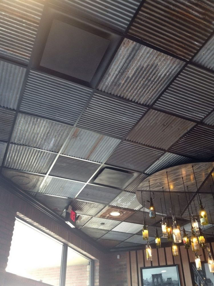 50 Great Drop Ceiling Tiles Designs You Will Never Forget