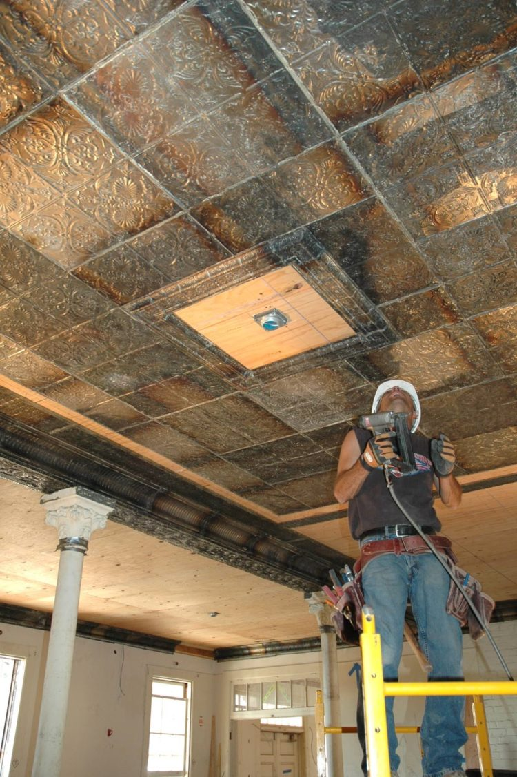 drop ceiling tiles have asbestos
