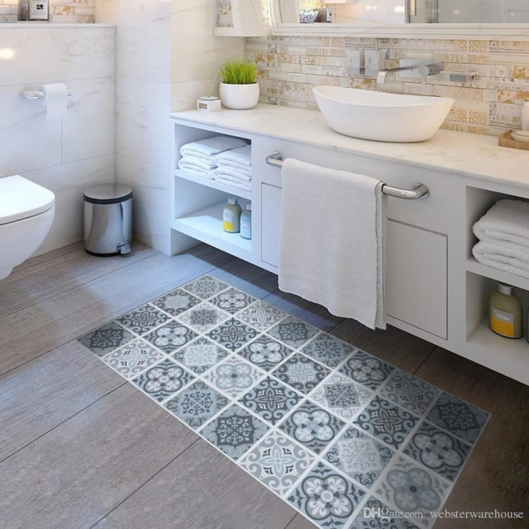 home depot peel and stick floor tile